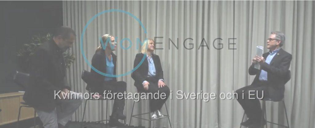 Kvinnorsföretagande i Sverige och i EU – WomEngage
